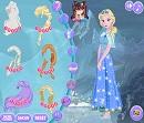 Kar Kraliçesi Elsa Giydirme