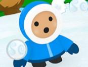 Kar Topu Savaşları (Snowfight.io)