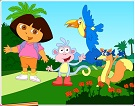 Kaşif Dora Boyama Kitabı