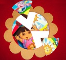 Kaşif Dora Dilimli Puzzle