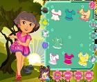 Kaşif Kız Dora Giydirme