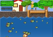 Kayu Balık Yakalama