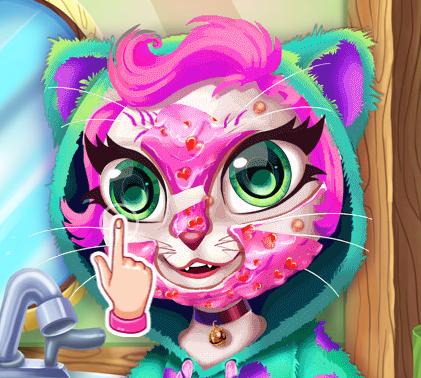 Kedi Angela Bakım ve Makyaj
