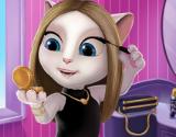 Kedi Angela İle Makyaj Zamanı