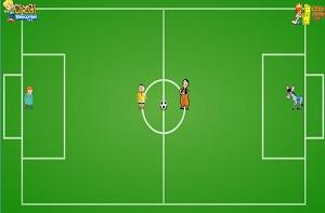 Keloğlan ve Kayu Futbol Maçı