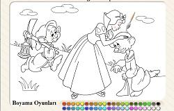 Keloğlan ve Prenses Boyama