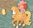 Kovboy Çilek Kız Civcivleri