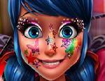 Ladybug Yüz Boyama