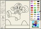 Mario ve Luigi Boyama Kitabı