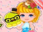 Minik Kız ve Sevimli Oyuncağı