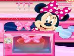 Minnie Mouse:Çikolatalı Kek