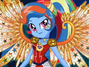 My little Pony Rainbow Dash Giydirme ve Makyaj