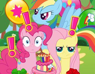 My Little Pony Sürpriz Doğum Günü