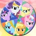 My Little Pony Yuvarlak Puzzle