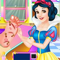 Pamuk Prenses ve Rapunzel Ayak Bakımı