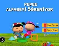 Pepee Alfabeyi Öğreniyor