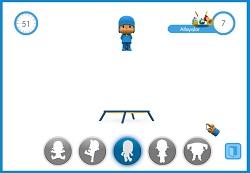 Pocoyo Zıplama Oyunu