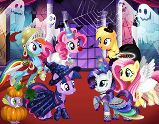 Pony Cadılar Bayramı
