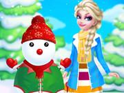 Prenses Elsa'nın Kardan Adamı