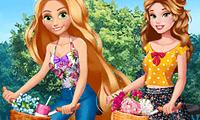 Prenses Rapunzel ve Prenses Bella Giydirme