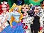 Prensesler Cadılar Bayramı Giydirme