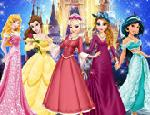 Prensesler Disney Parkında