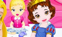 Prensesler ile Oda Temizliği