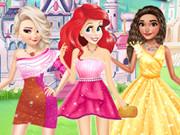 Prenseslerin Farklı Omuz Elbiseleri