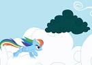 Rainbow Dash Bulut Toplama
