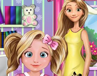 Rapunzel'in Tembel Kızı