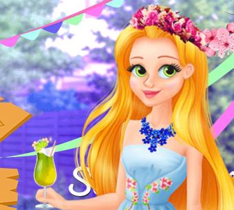 Rapunzel'in ve Gizli Bahçesi