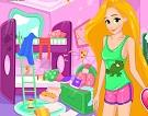 Rapunzel Pijama Partisi Temizliği