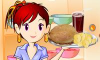 Sara ile Yemek Yapma