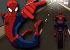 Örümcek Adam Motorsikleti