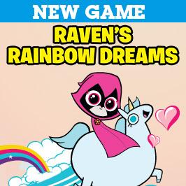 Teen Titans Raven'in Gökkuşağı Rüyası