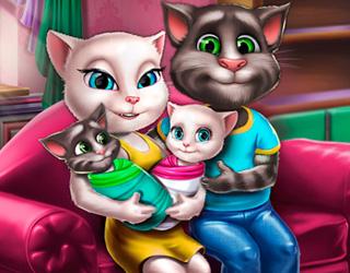 Tom ve Angela İkizler Doğdu