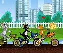Tom ve Jerry Bisiklet Yarışı