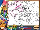 Tom ve Jerry Yarışı Boyama
