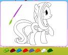 Zarif Pony Boyama